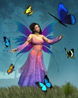 Butterfly Fairy Queen