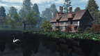 English Traditional Riverside Manor House