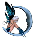 Silver-blue Moon Fairy - 2