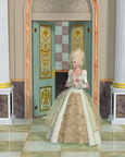 Queen Marie Antoinette in the Palace of Versailles