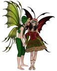 Christmas Fairy Kiss
