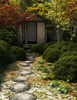Japanese Tea House and Garden