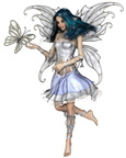Snowflake Butterfly Fairy