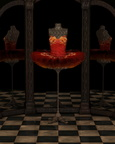 Red Firebird Classical Ballet Tutu Reflections