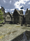 Medieval or Fantasy Town Square