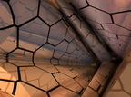 Hexagonal Tubes Abstract Fractal Design